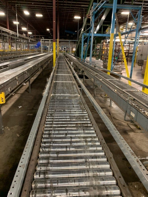 10. powered conveyor
