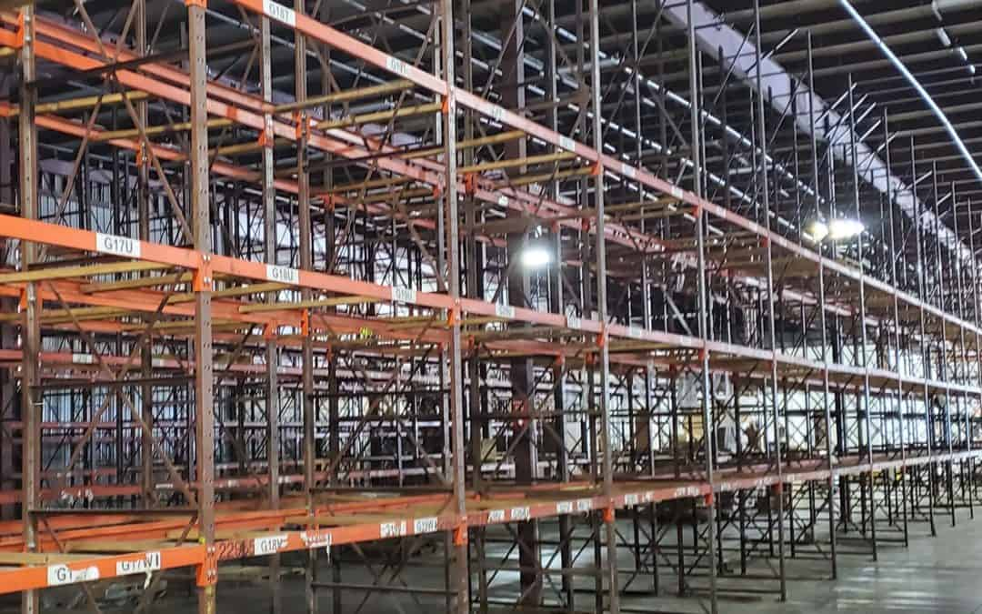 Buy used pallet racking in Grand Rapids, MI