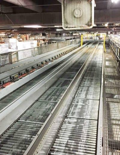 Mezzanine-Catwalk (30 inch) with Conveyor