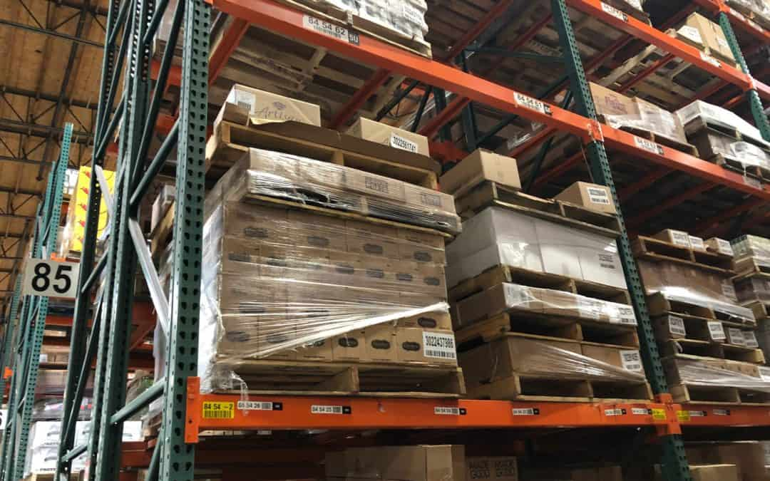 Buy used pallet racking in Seattle, WA