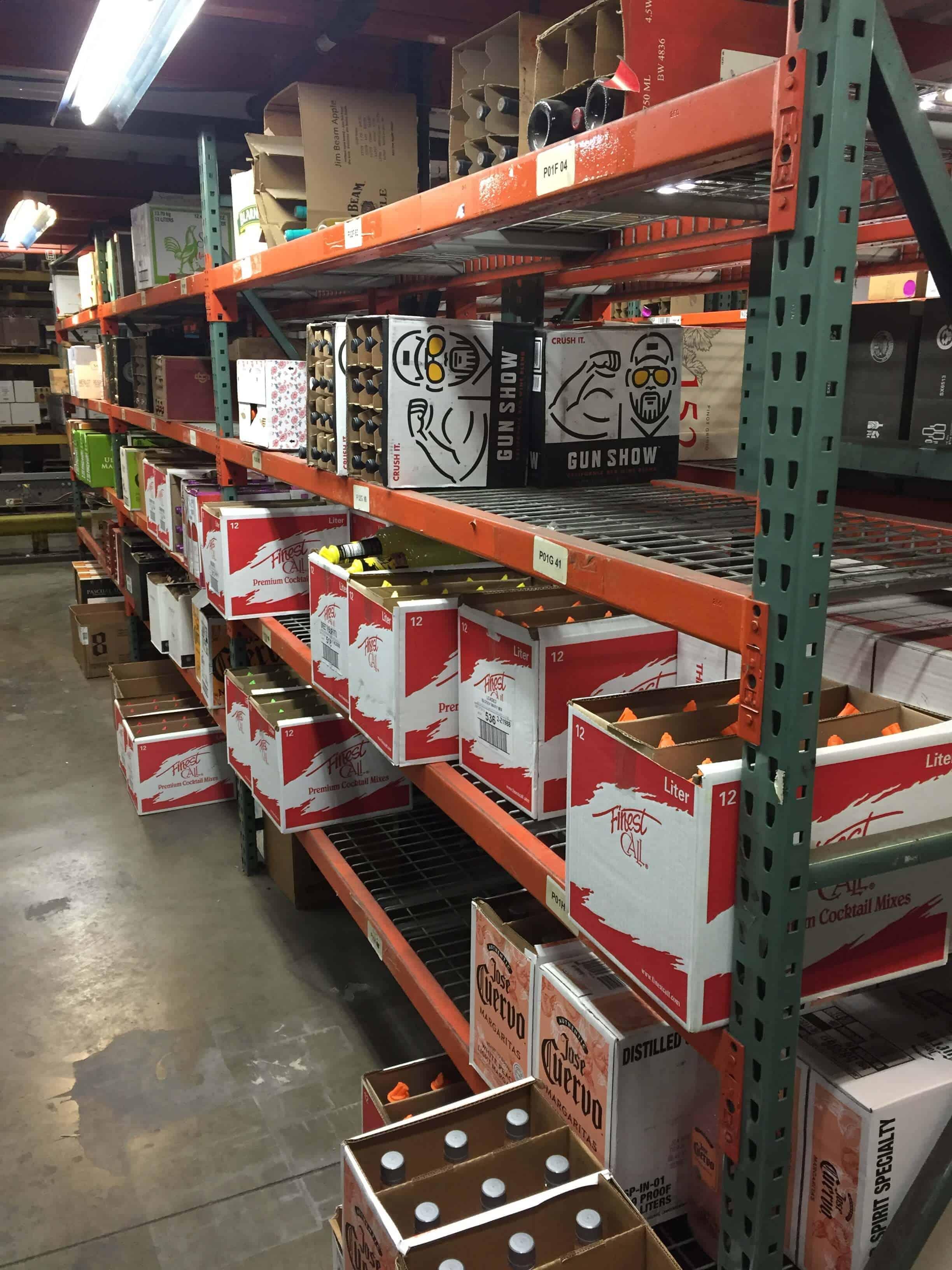 Racking Shelves