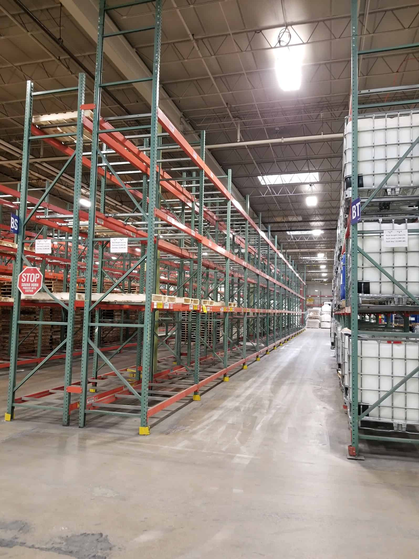 sell used pallet racks