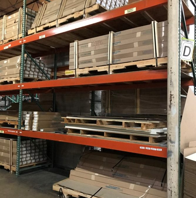 Pallet rack for distribution centers | Dallas, TX