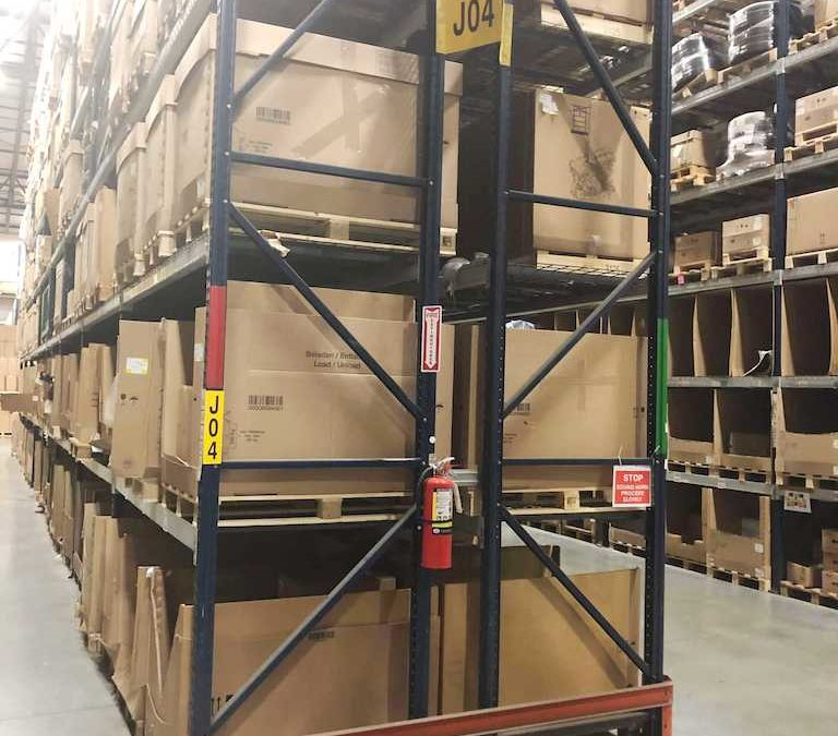 Sell pallet racking in Fort Worth, TX