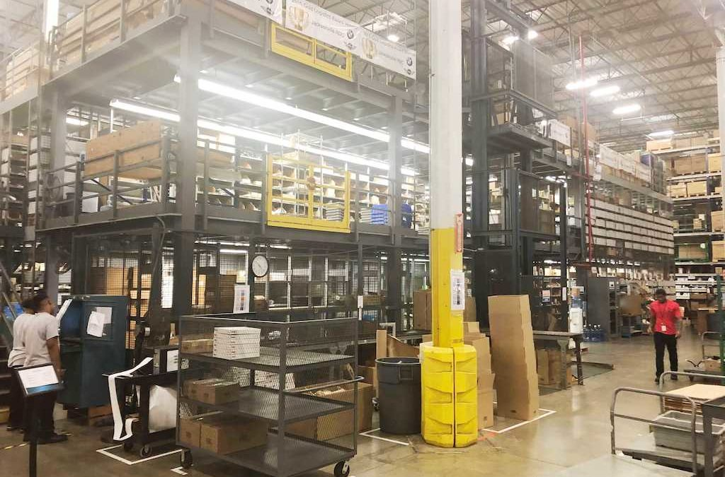 Sell used warehouse equipment in Columbus, OH