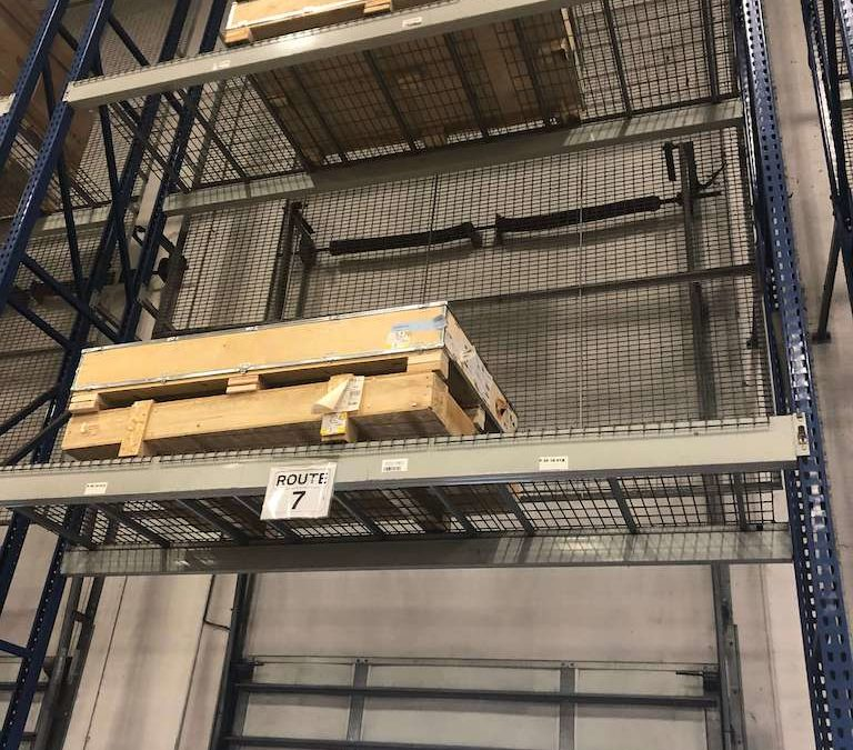 Buy used pallet racking in Fort Worth, Texas